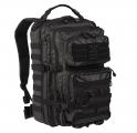 Mil-Tec US Assault Pack TACTICAL Iso Reppu 36L - Musta