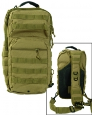 Mil-Tec One Strap Assault Pack Large - Kojootin ruskea