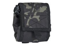MIL-TEC Empty Shell Pouch Collapsible Multitarn Black