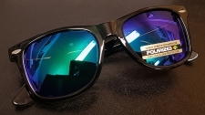 Wayfarer Black | Midnight Green | POLARISOIDUT