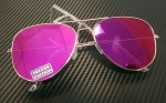 Aviator Aurinkolasit | Purple Sunset
