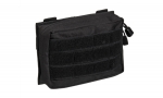 MIL-TEC Black MOLLE Belt Pouch Small