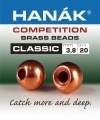 HANAK Competition CLASSIC Brass Messinkikuulat COPPER