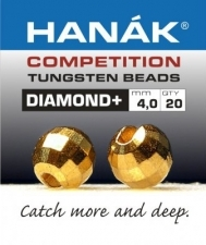 HANAK Competition DIAMOND+ Discopallo Tungsten Kuulat KULTA