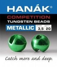 HANAK Competition METALLIC+ Tungsten Kuulat GREEN