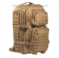 Mil-Tec US Assault Pack LASER CUT Large - Coyote Brown