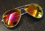 Aviator / Sunset Gold Peililinssit