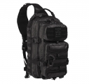 TACTICAL BLACK ONE STRAP ASSAULT PACK LARGE