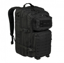 Reppu Mil-Tec US Assault Pack LASER CUT Large - Musta