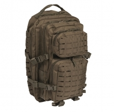 Mil-Tec US Assault Pack LASER CUT Large - Oliivinvihreä