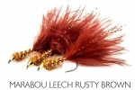 Marabou Leech Rusty Brown